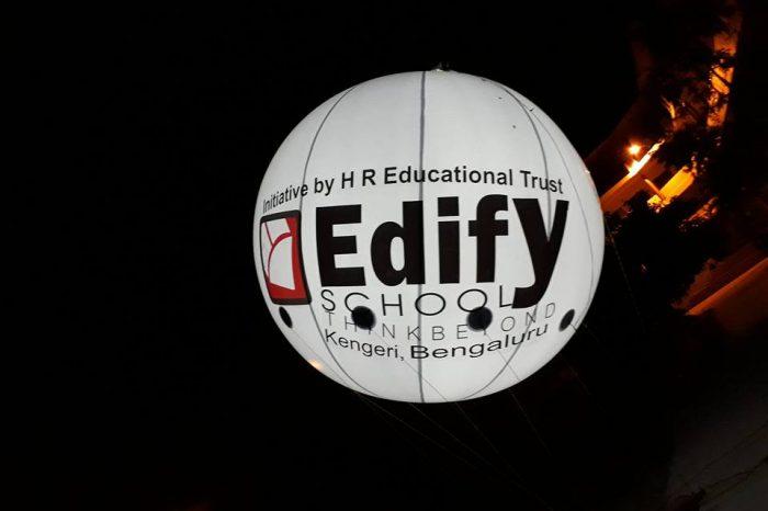 Edify Lit Balloon