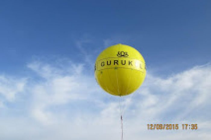 Balloon Advertising At Bangalore, Karnataka,India
